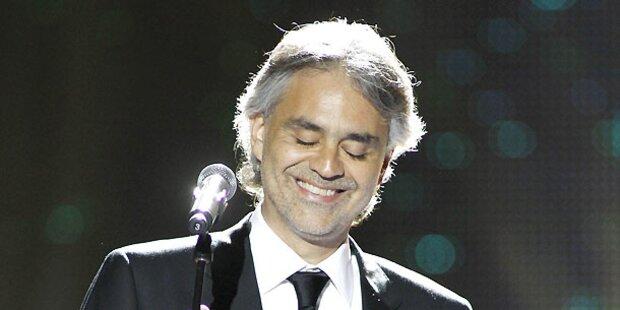 Bocelli: Megakonzert am 11. September