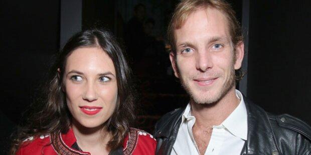 Andrea Casiraghi & Tatiana: Happy in Paris