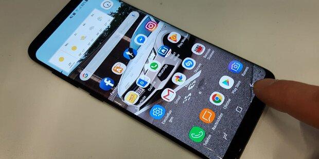 Samsung: Neues Wunder-Display für Smartphones