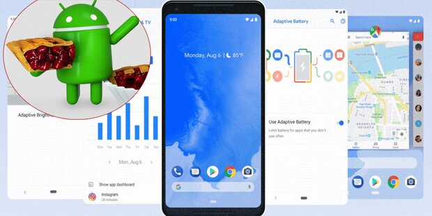 Überraschung: Android 9