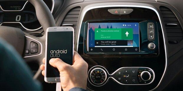Google bringt Android in Millionen Autos
