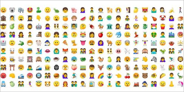 2 000 Neue Emojis F 252 R Android Nutzer