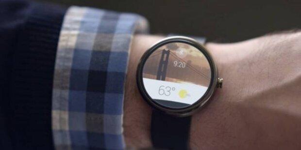 Android Wear: Google startet Smartwatch