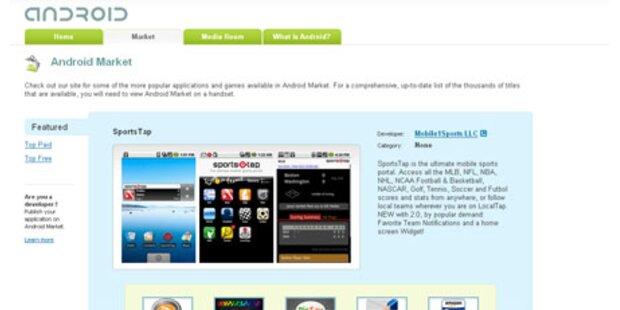 Android-Market präsentiert sich neu