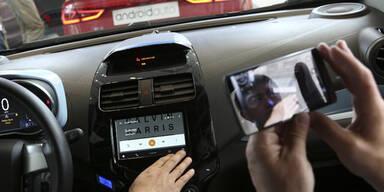 Apple und Google kämpfen ums Auto