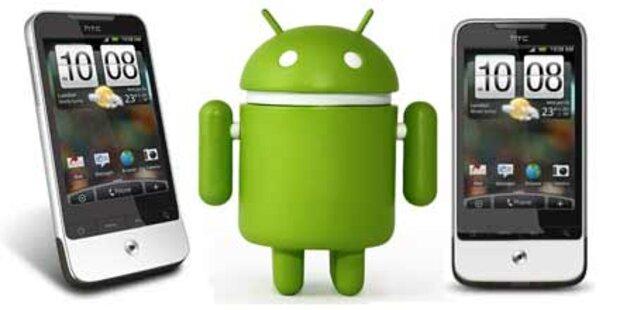 Android-Smartphones gehört die Zukunft