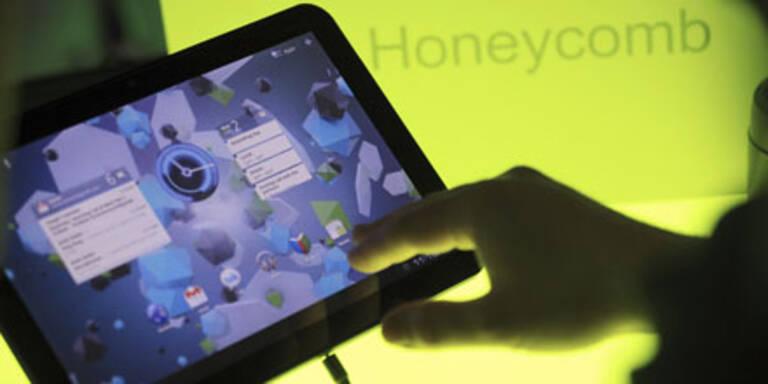 Google: Mit Android 3.0 gegen das iPad