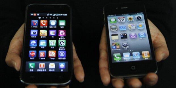 Android & iPhone auf der Überholspur