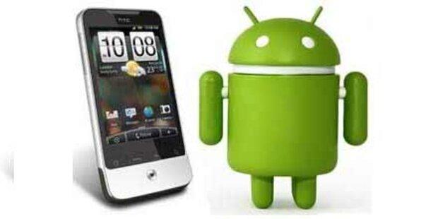 Android führt in US-Smartphone-Markt