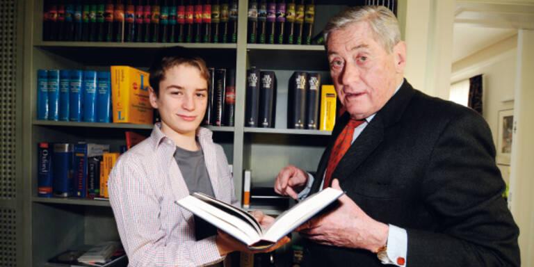 Hannes Androsch: Krebs-Angst um Sohn