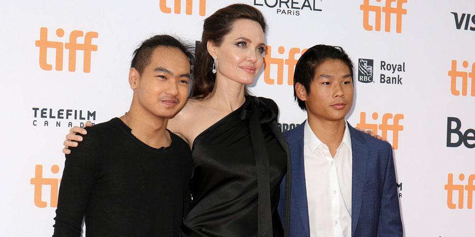 Angelina Jolie Maddox Pax