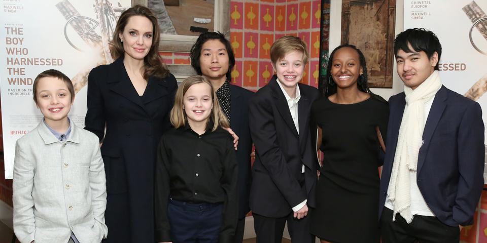 Angelina Jolie Kinder