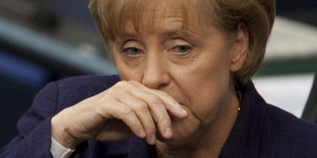 CDU/CSU stürzt auf 30 Prozent ab