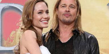 Angelina Jolie und Brad Pitt feiern in Berlin