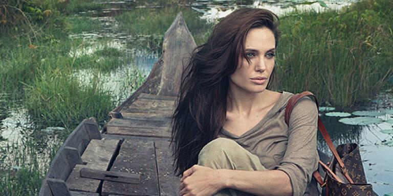 Angelina rührt in Louis Vuitton-Werbung