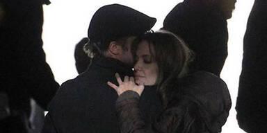 Angelina Jolie im Liebes-Glück