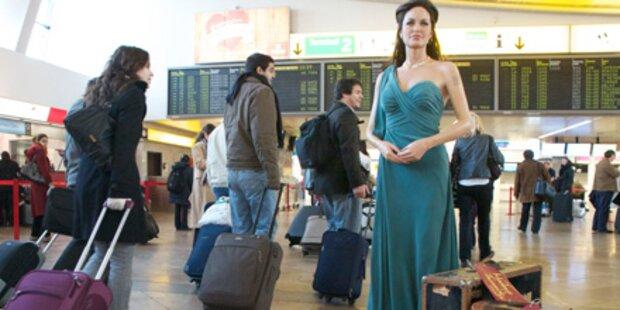 Hollywood-Star Angelina Jolie in Wien
