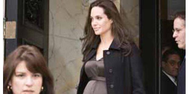 Angelina Jolie entspannt mit Familie in Frankreich