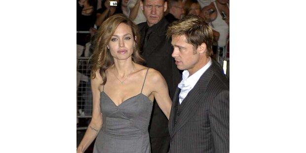 Angelina Jolie versagten die Beine