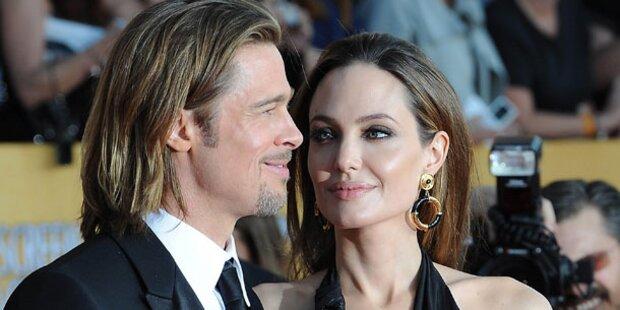 Jolie & Pitt: Streit um die Traumhochzeit