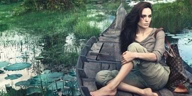 Angelina Jolie wirbt für LV in Kambodscha