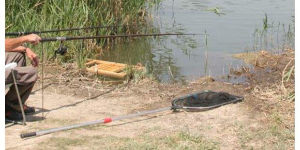 Mann erlittt beim Fischen Herzstillstand