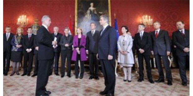 Vorschusslorbeeren für neue Regierung