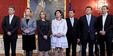 32% sind gegen neues ÖVP-Team