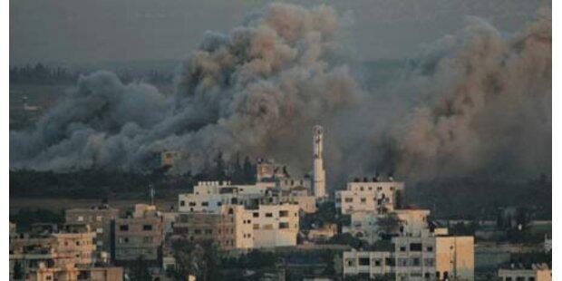 Israel fliegt Luftangriff - ein Toter