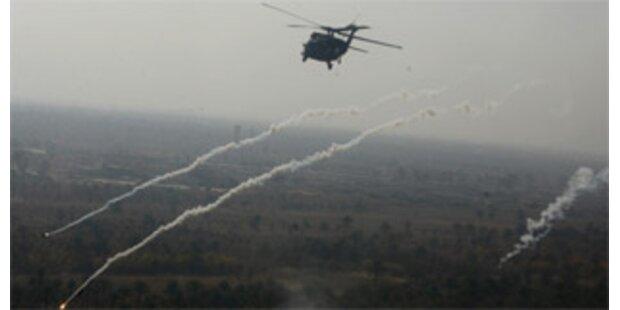 US-Armee legt Bombenteppich im Irak