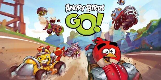 Angry Birds treffen auf