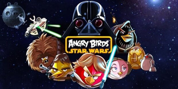 Angry Birds Star Wars mit coolen Features