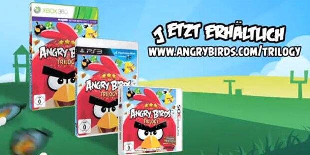 Angry Birds landen jetzt auf dem Fernseher