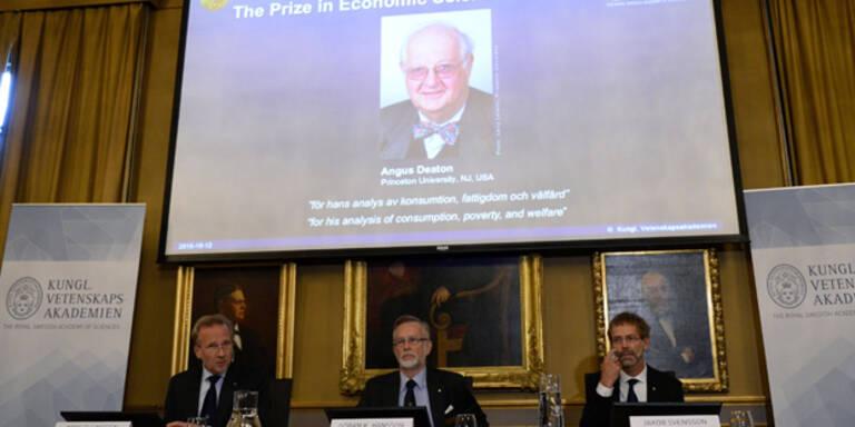 Wirtschaftsnobelpreis für Armuts-Forscher