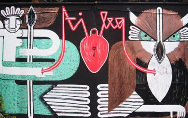 STREET ART PASSAGE VIENNA: ANIMALISTIKA