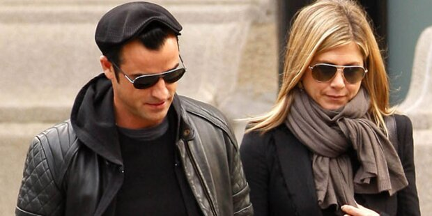 Aniston & Theroux: Krise im 7. Himmel?