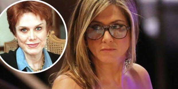 Aniston: Hat ihre Mama Alzheimer?