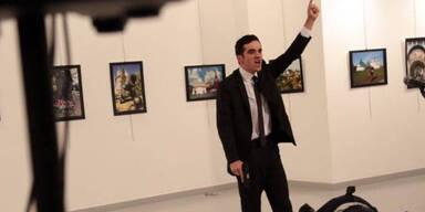 Dieser Terrorist tötete den russischen Botschafter