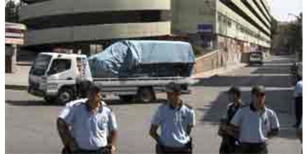 Autobombe in Ankara entdeckt