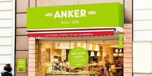 Erste rein vegane Anker-Filiale in Wien