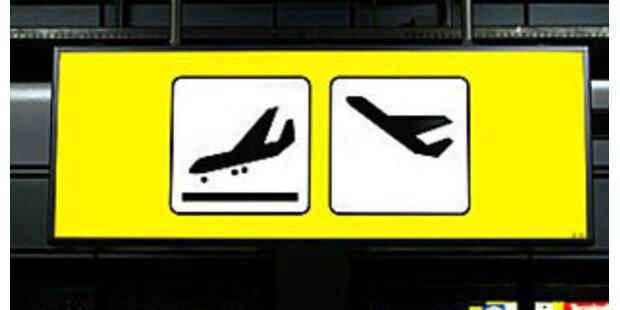 Bombendrohung gegen Flugzeug über Innsbruck