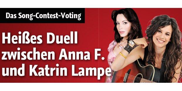 Anna F. und Katrin Lampe im heißen Duell