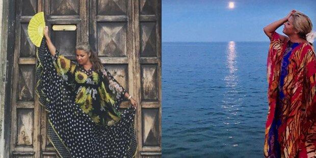 Anna Netrebko: Ferien-Spaß in Jesolo