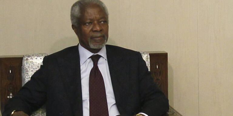 Annan: Einigung bei Syrien-Konferenz