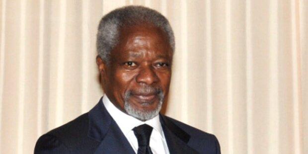 Sonderbeauftragter Annan reist nach Syrien