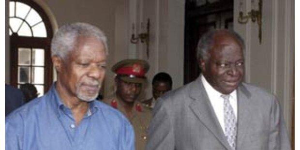 Annan sieht Kenias Probleme in vier Wochen lösbar