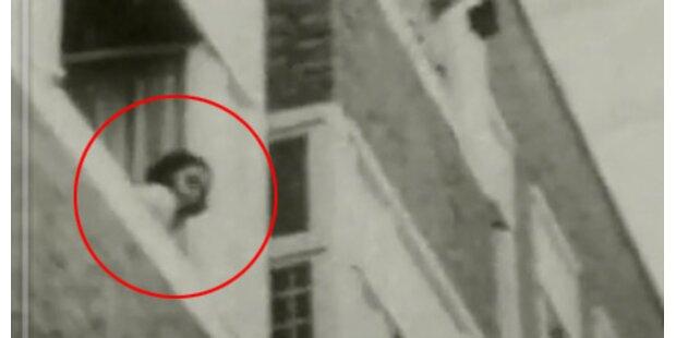 Film-Aufnahme von Anne Frank aufgetaucht