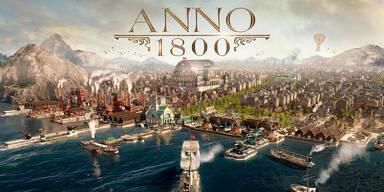 Anno 1800 lockt ab sofort ins 19. Jahrhundert