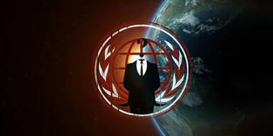Anonymous schickt Düringer ein Video