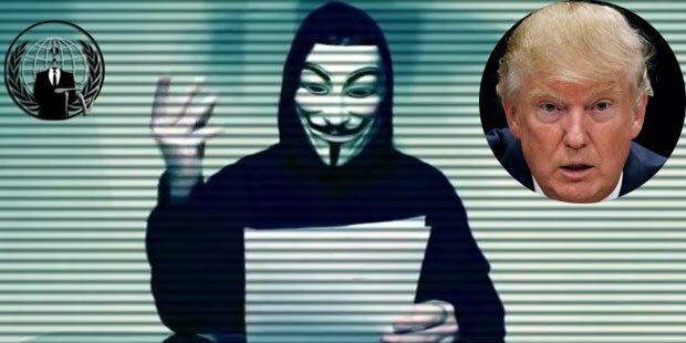 Anonymous droht Trump mit Mega-Enthüllung